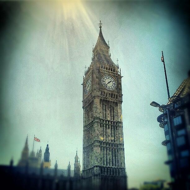 England Photograph - #bigben #uk #england #london #londoneye by Abdelrahman Alawwad