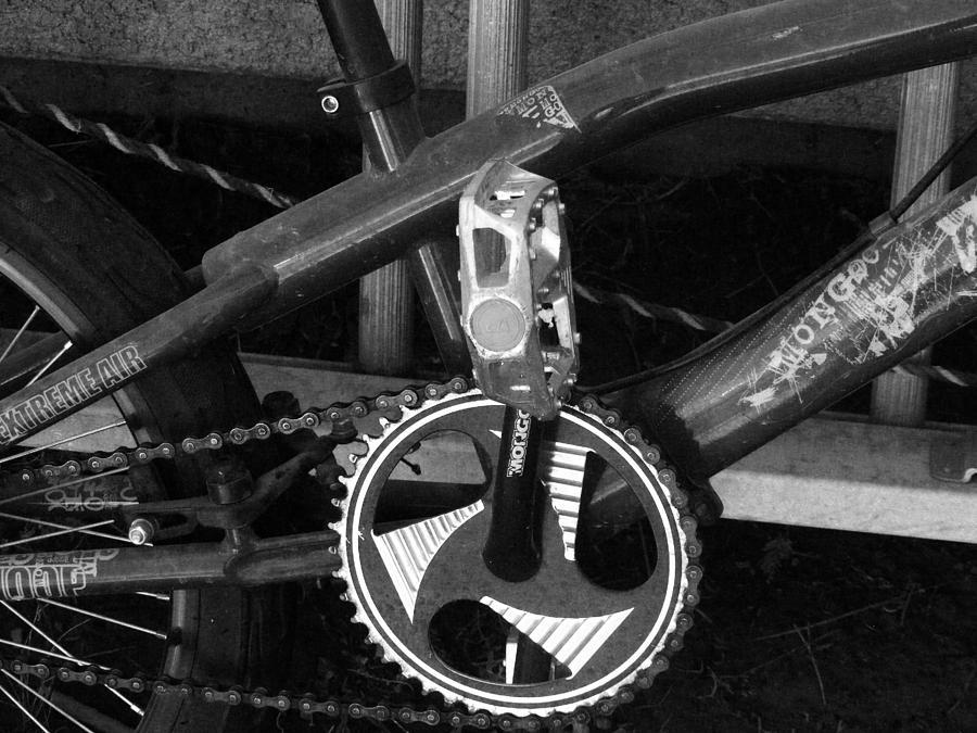 Bike 7 Photograph by Jeremy Hollis