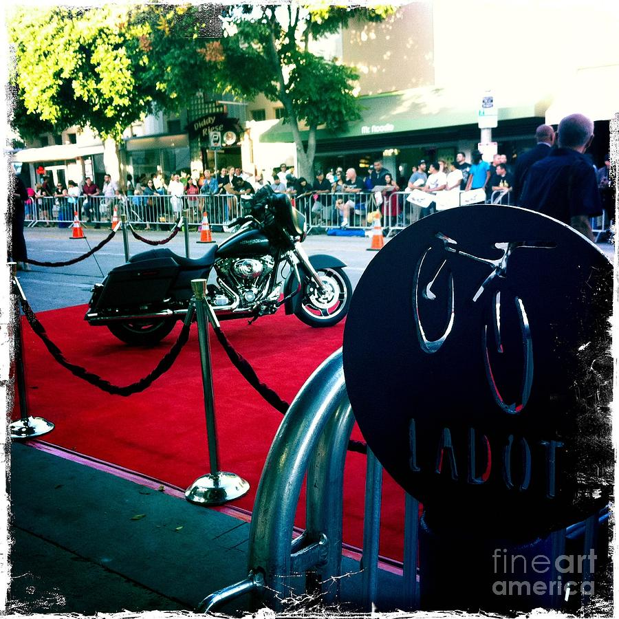 Motorcycle Photograph - Bike Parking by Nina Prommer