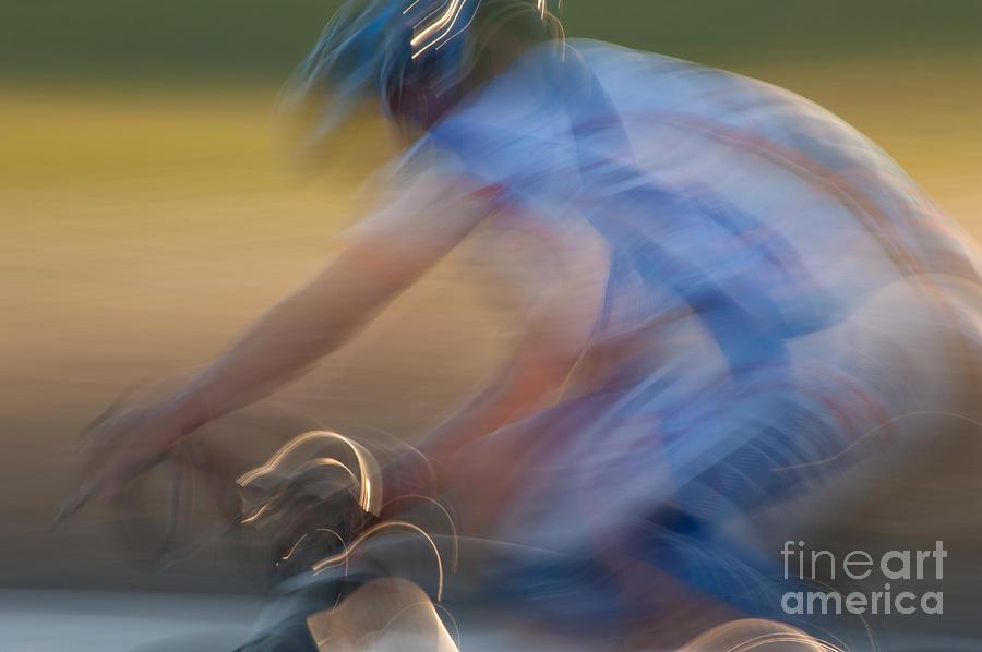 Bike Photograph - Bike Race 2 by Catherine Lau