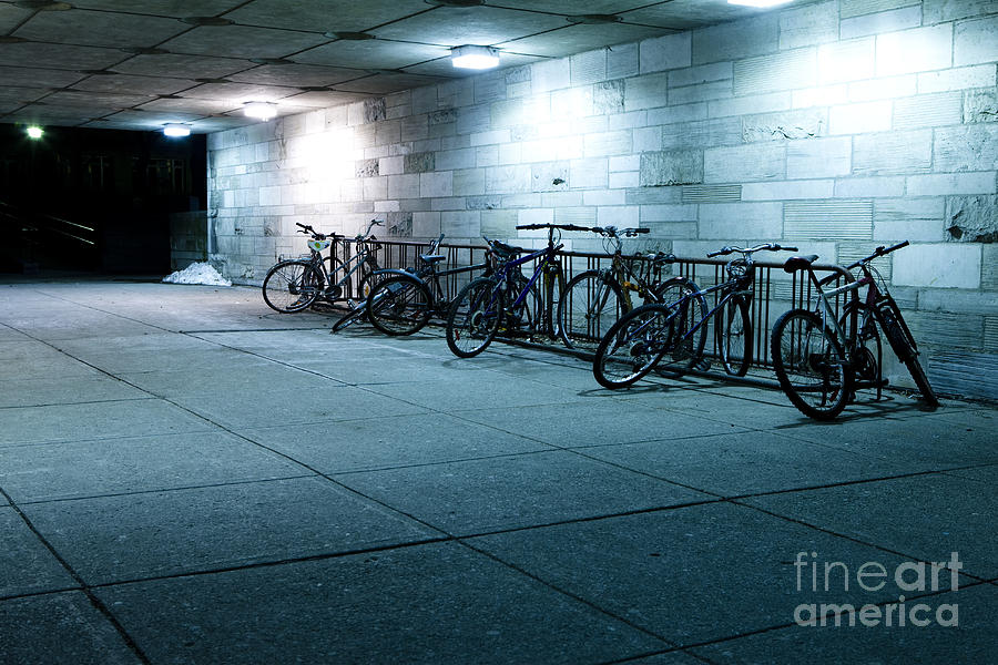 Bikes Photograph - Bikes by Igor Kislev