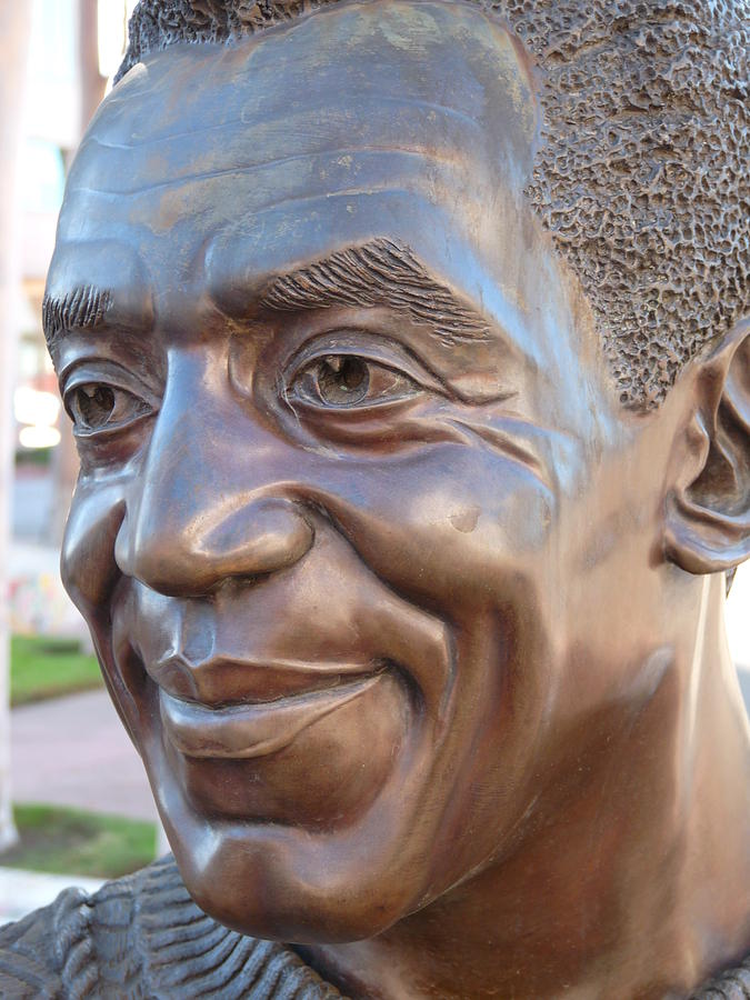 Comedian Photograph - Bill Cosby Bust I by Jeff Lowe