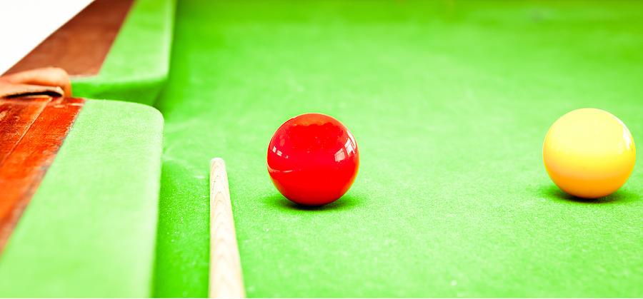 Ambition Photograph - Billiard Table by Tom Gowanlock