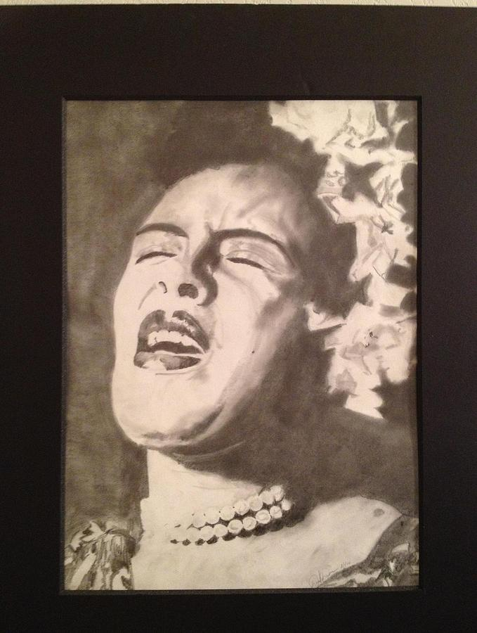 Celebrity Drawing - Billie by David Duerson