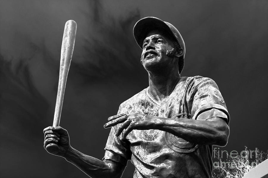 Baseball Hall Of Fame Photograph - Billy Williams - H O F by David Bearden