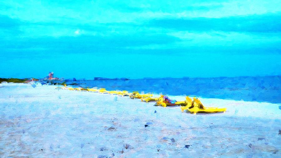 Beach Photograph - Biloxi Beach by Scott Crump