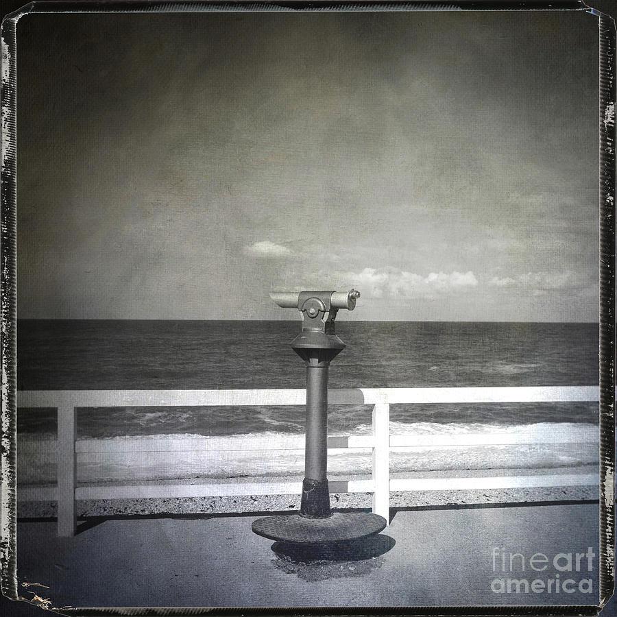Absence Photograph - Binocular by Bernard Jaubert