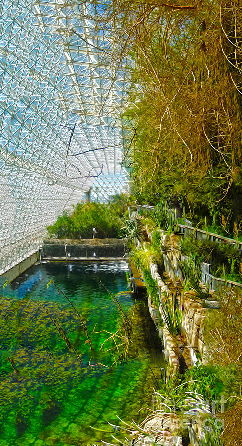 Biosphere2 Painting - Biosphere2 - Environment 1 by Gregory Dyer