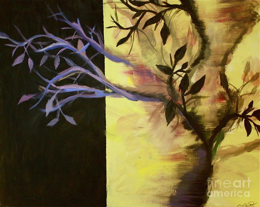 Nature Painting - Bipolar San Francisco by Micaela Rodriguez