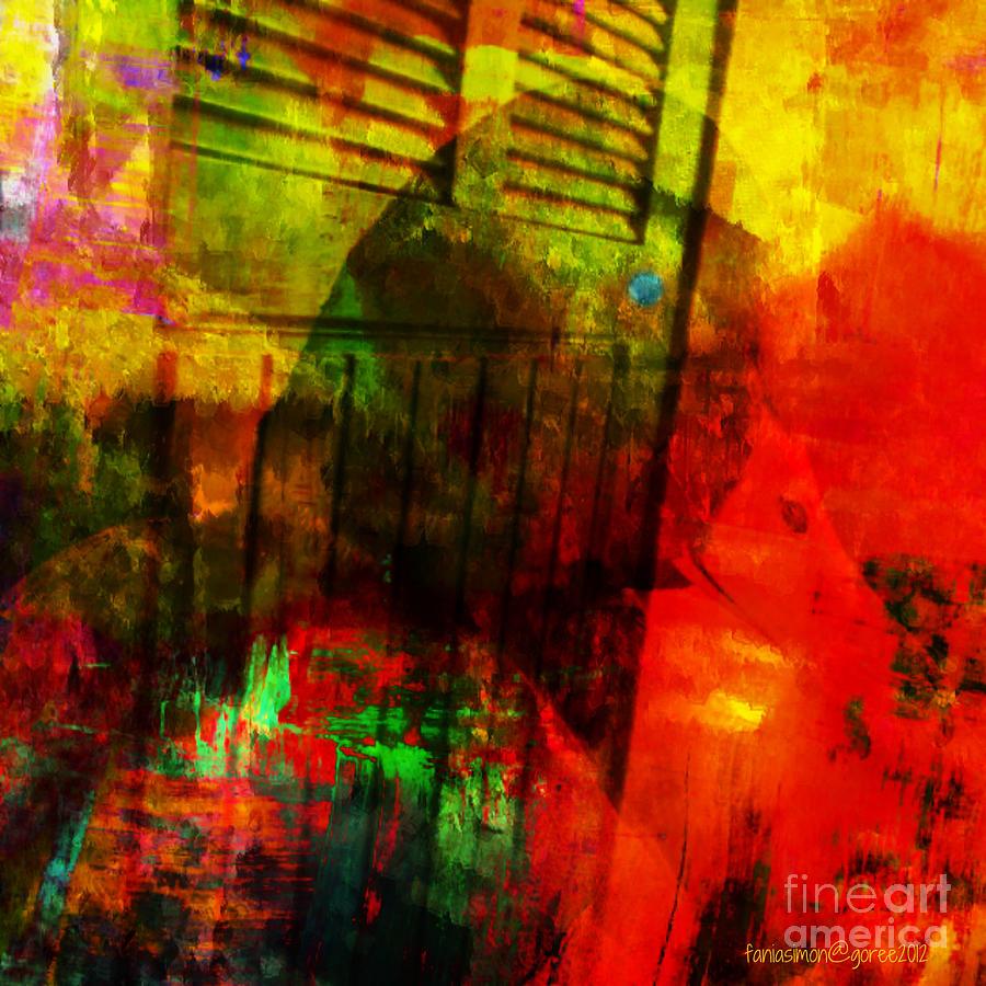 Bird In Progress Mixed Media by Fania Simon