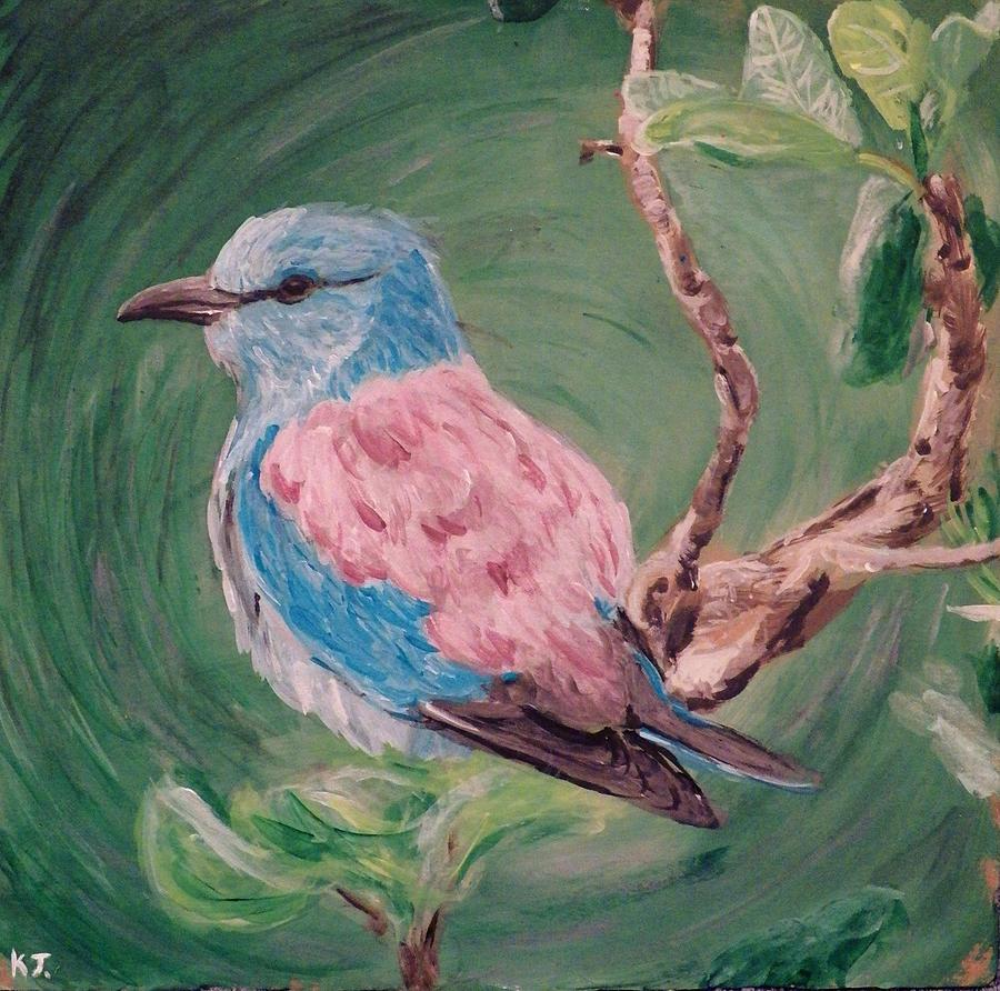 Bird Painting - Bird  by Katelynn Johnston
