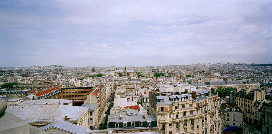 Paris Photograph - Panoramic Paris by Shaun Higson