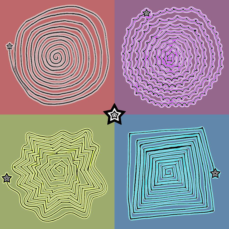 Digital Art Drawing - Birth Of A Star by Sumit Mehndiratta