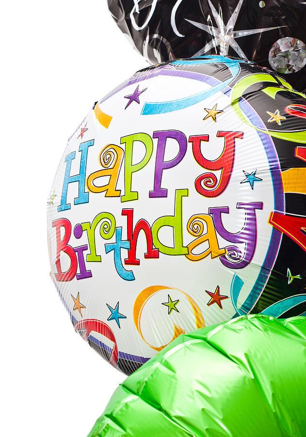 Advertisement Photograph - Birthday Balloons by Tom Gowanlock