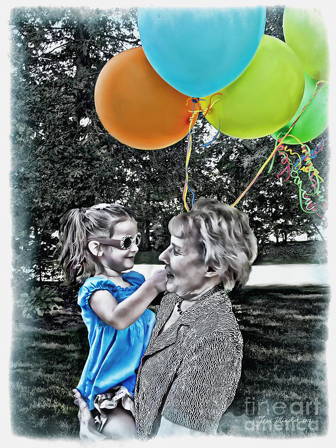 Birthday Party Photograph - Birthdays by Joan  Minchak