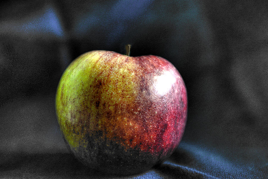 Apple Photograph - Bite Me by William Fields