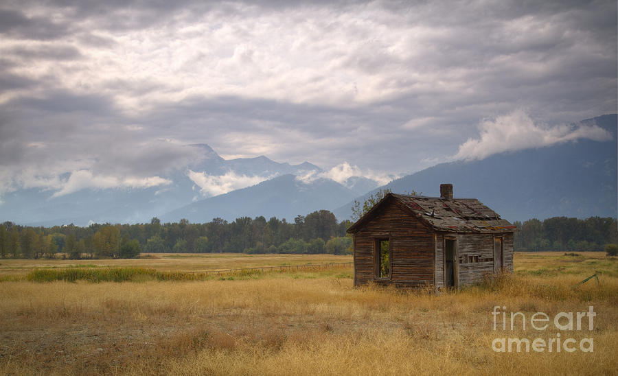 Homestead Photograph - Bitterroot Homestead by Idaho Scenic Images Linda Lantzy
