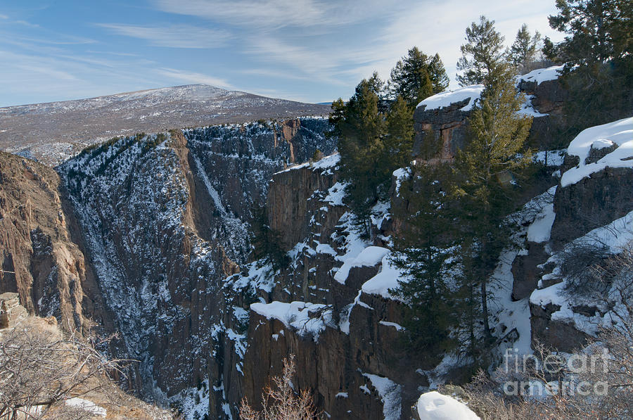 Black Canyon Of The Gunnison Photograph - Black Canyon Of The Gunnison by David Waldrop