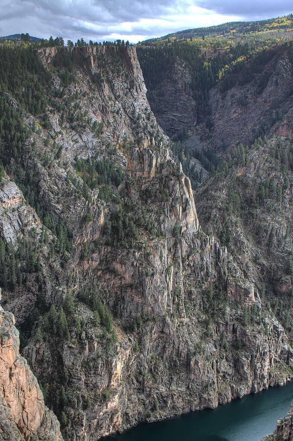 Black Canyon Photograph - Black Canyon Of The Gunnison National Park by Farol Tomson