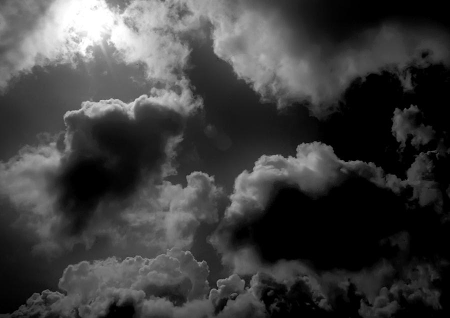 Black Clouds Photograph By Hans Kaiser