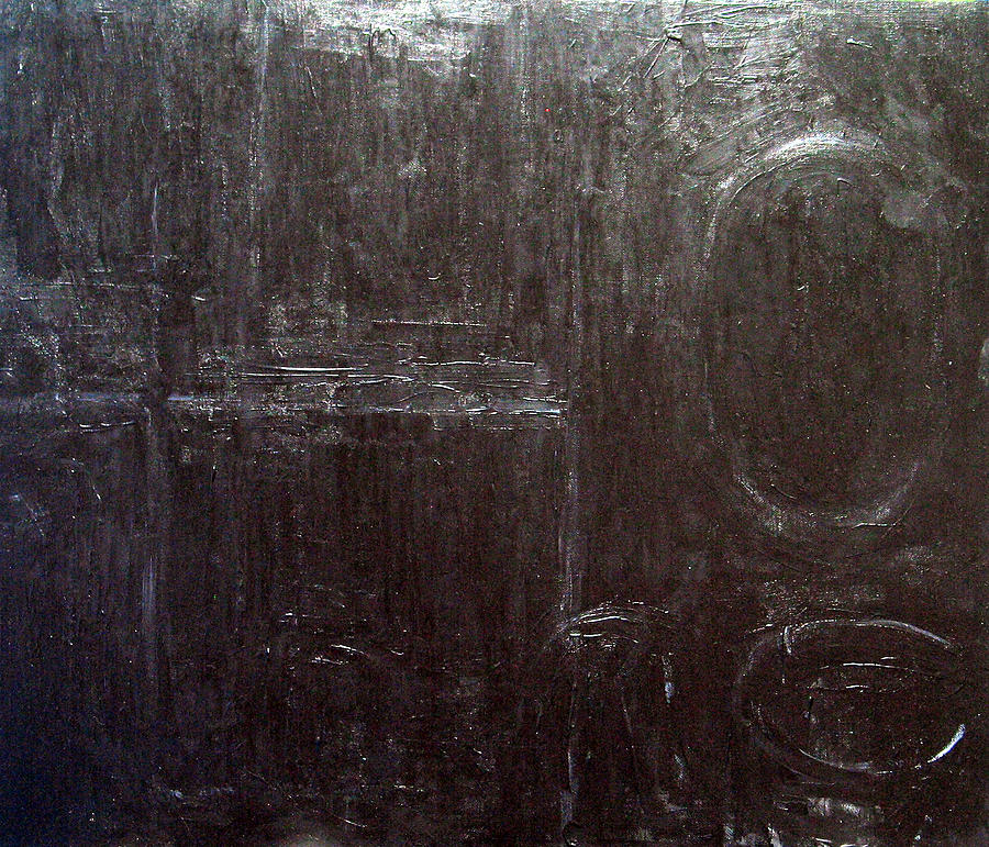 Black Painting - Black Interior  by Kazuya Akimoto