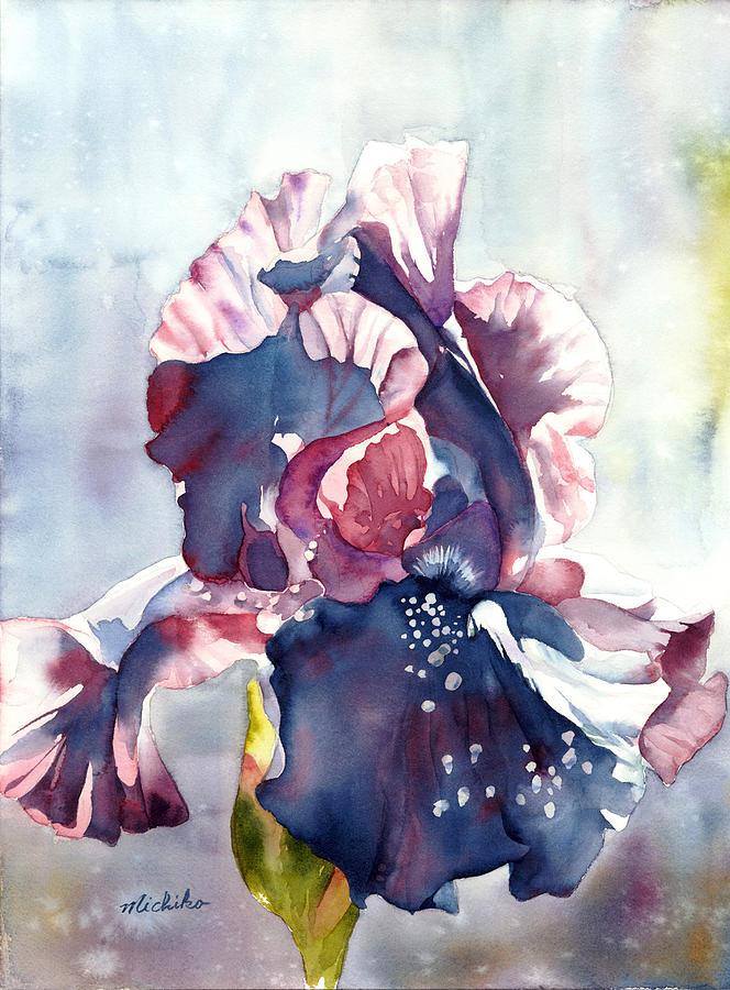 Black Iris By Michiko Taylor