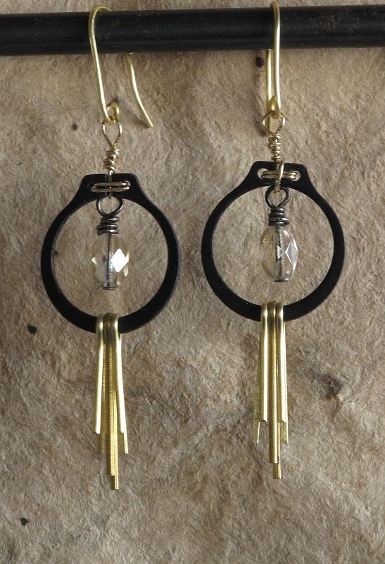 Jewelry Jewelry - Black N Gold by Jan Brieger-Scranton