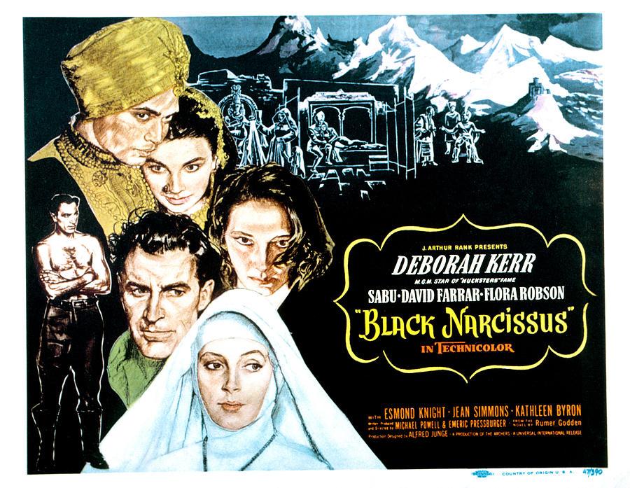 1940s Movies Photograph - Black Narcissus, David Farrar, Sabu by Everett