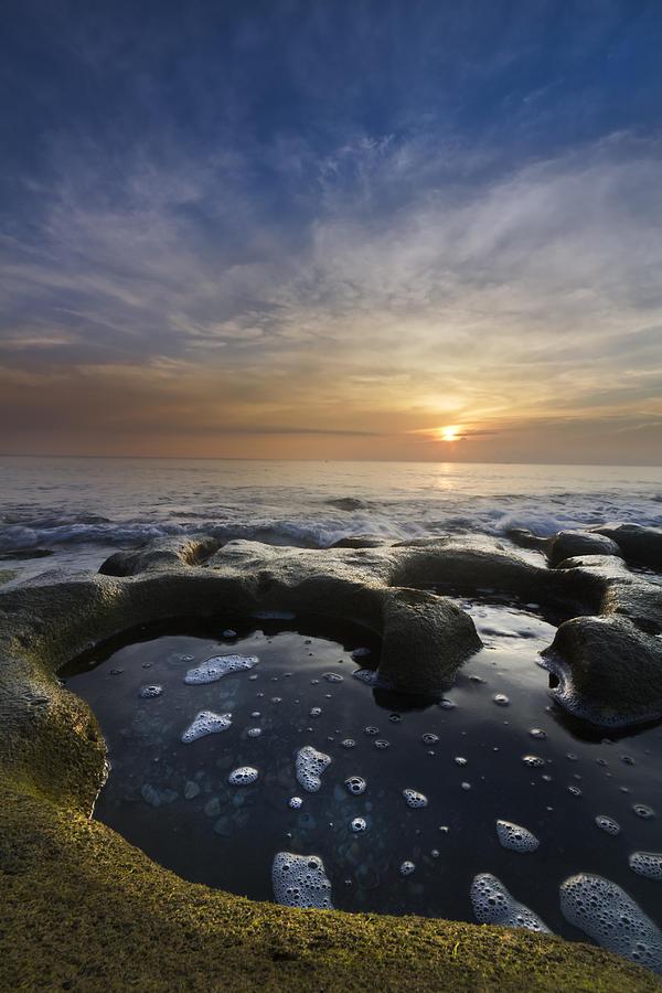 Clouds Photograph - Black Sea by Debra and Dave Vanderlaan