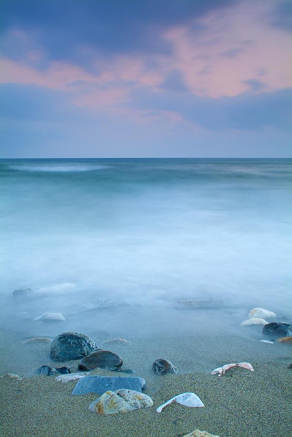Seascape Photograph - Black Stones by Guido Montanes Castillo