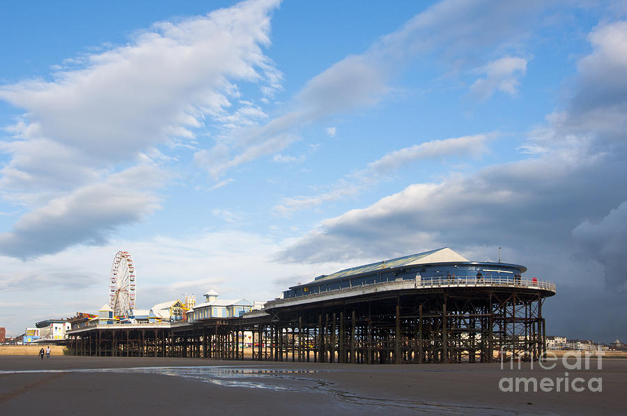 2010 Photograph - Blackpool Pier by Andrew  Michael