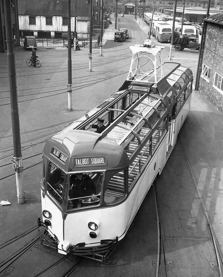 Blackpool Tram Photograph by Fox Photos