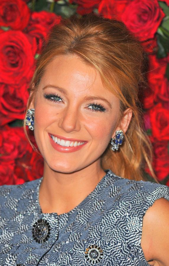 Blake Lively Photograph - Blake Lively At Arrivals For Momas 4th by Everett