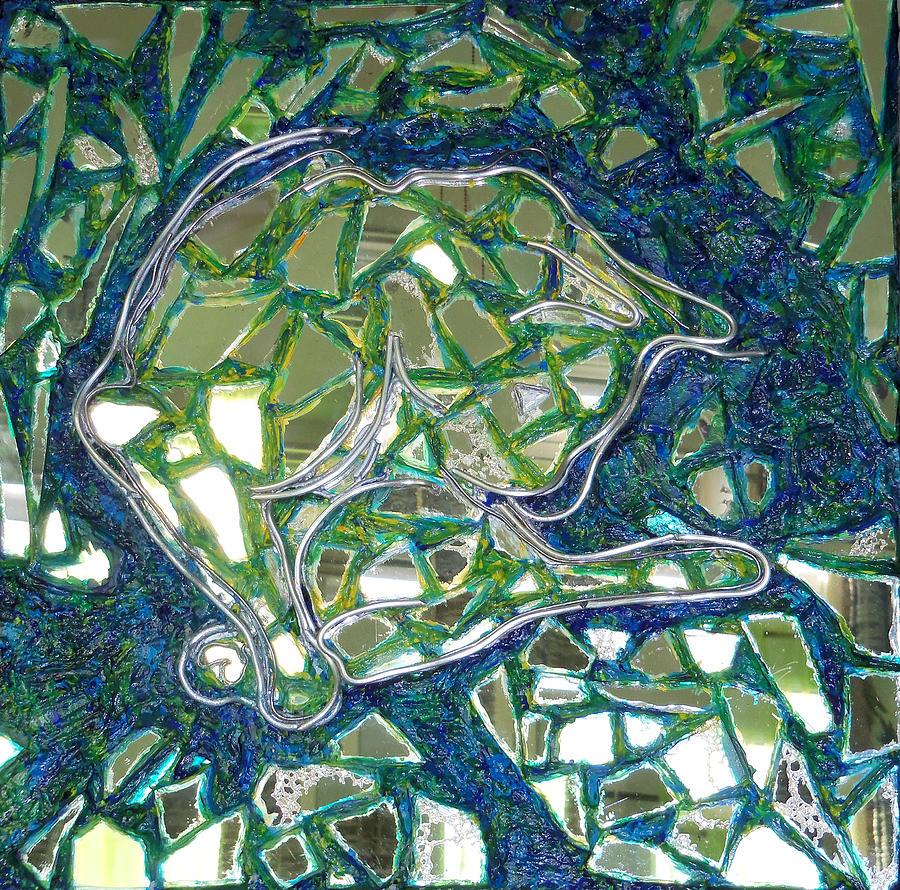 Artiste Josee Hatin Painting - Blanco by Hatin Josee