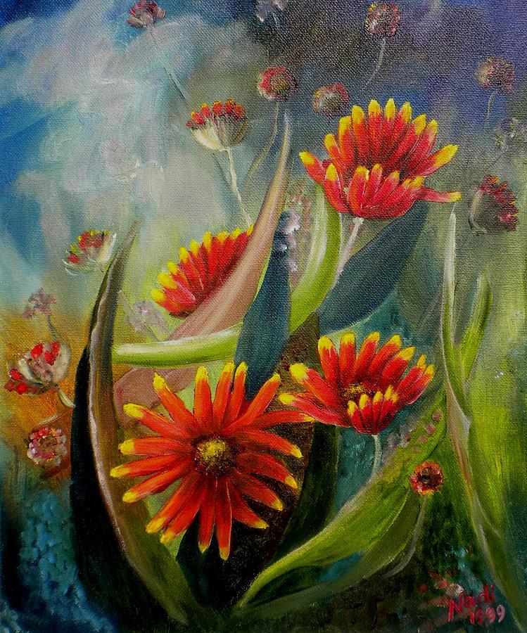 Blanket Flower Photograph - Blankets In The Morn by Renate Nadi Wesley