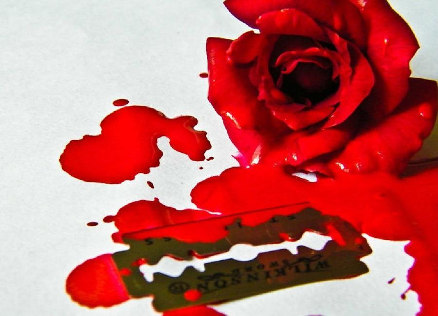 Photograph - Bleed by Prashant Ambastha