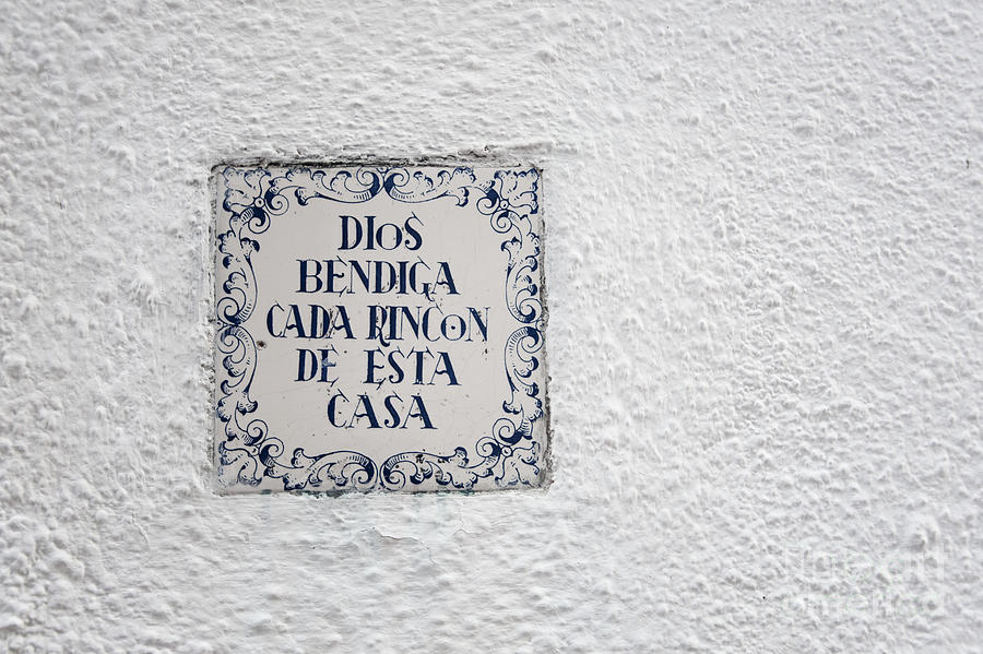 Wall Photograph - Blessing by Agnieszka Kubica