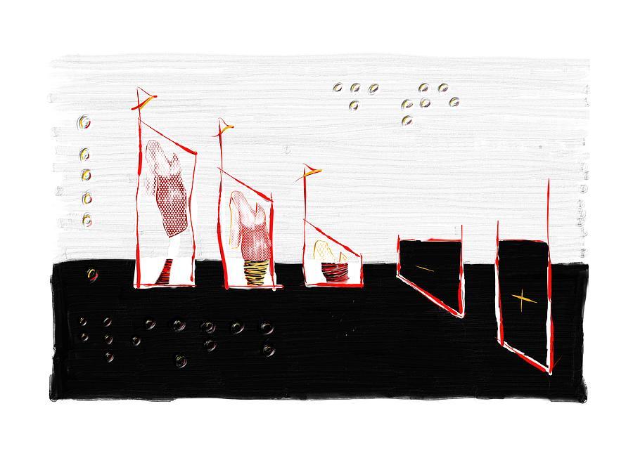Cita A Ciegas Digital Art - Blind Date D by Marcelo Itkin