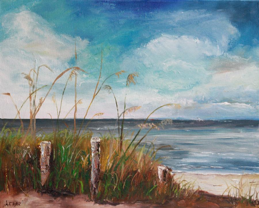Beach Painting - Blind Pass Beach by Kathleen Hartman