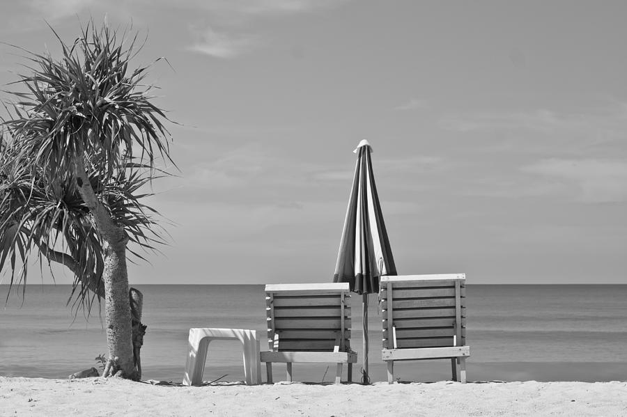 Bay Photograph - Bliss Is The Beach by Georgia Fowler
