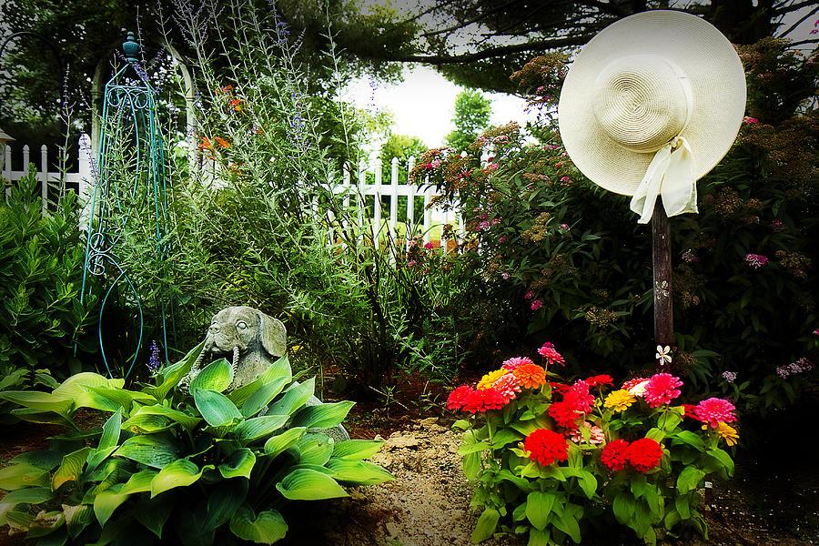 Garden Photograph - Blissful Garden by Trudy Wilkerson