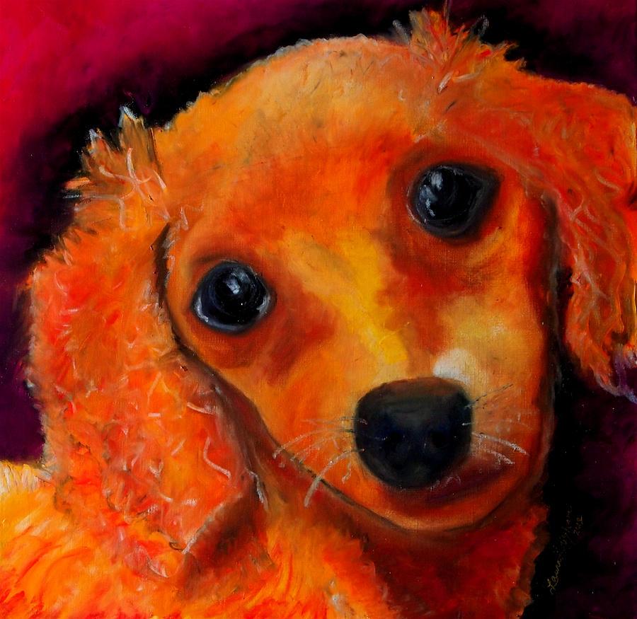 Paintings Painting - Blondie by Laura  Grisham