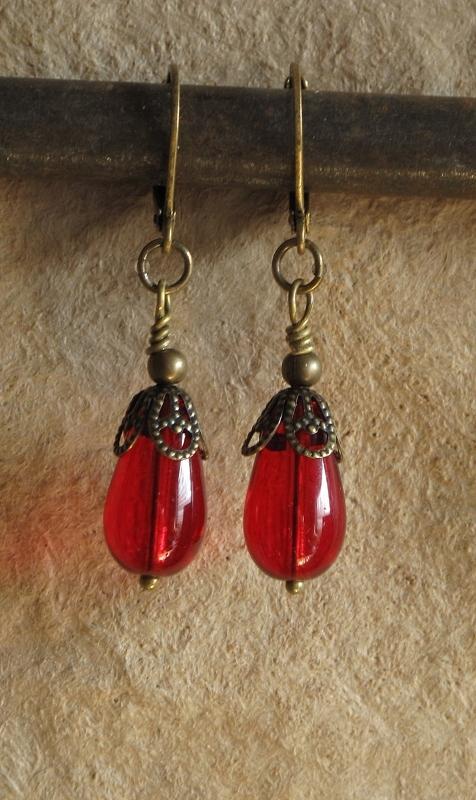 Jewelry Jewelry - Blood Drops by Jan Brieger-Scranton