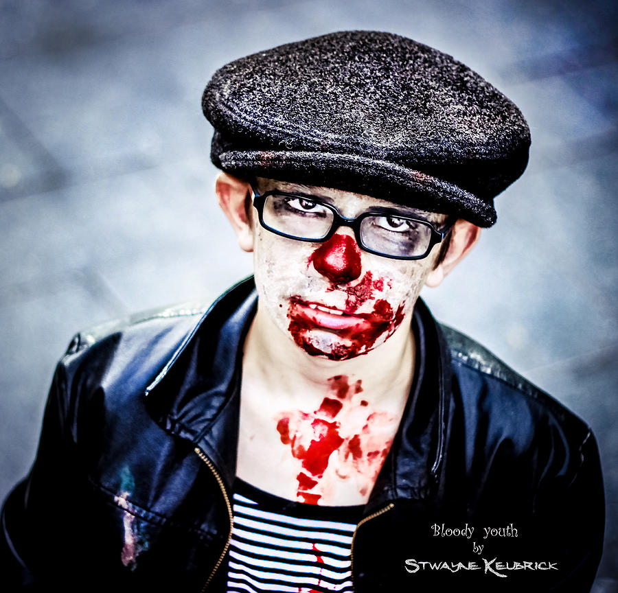 Portraits Photograph - Bloody Youth by Stwayne Keubrick