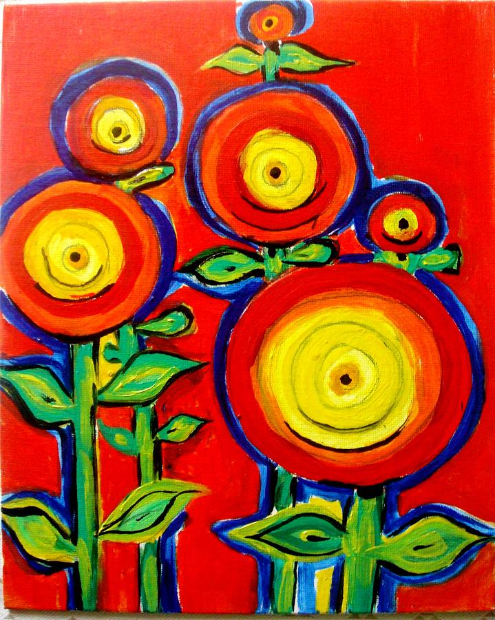 Blossoms Painting by Sonali Singh