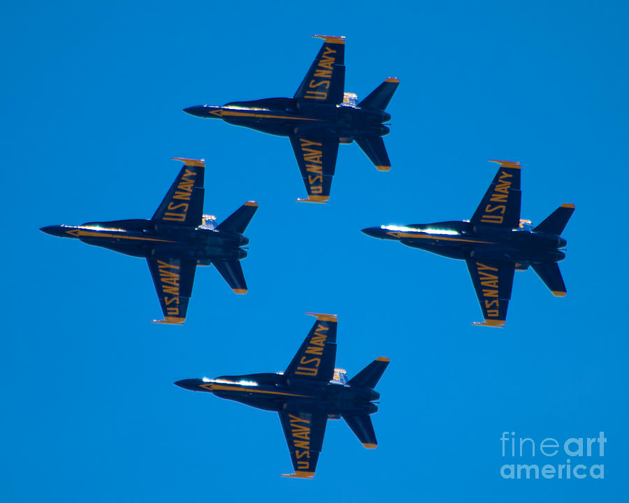 Blue Angels Photograph - Blue Angels 10 by Mark Dodd