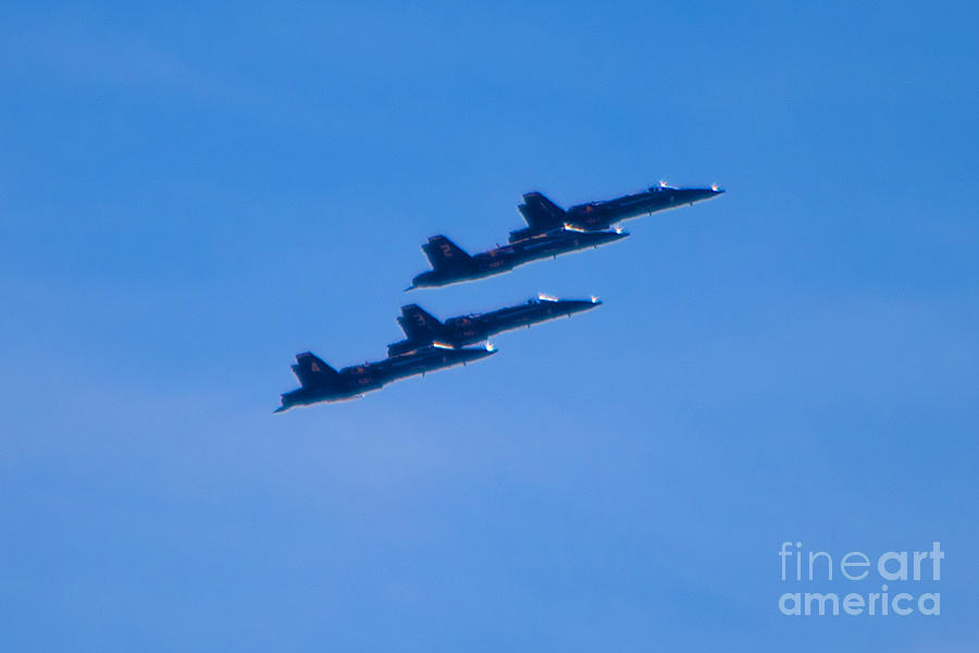 Blue Angels Photograph - Blue Angels 16 by Mark Dodd