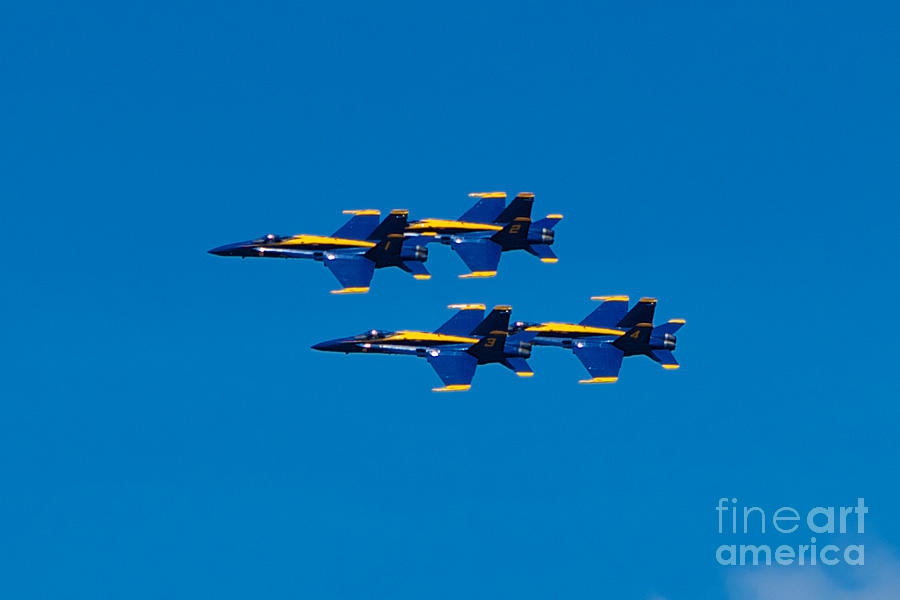 Blue Angels Photograph - Blue Angels 2 by Mark Dodd