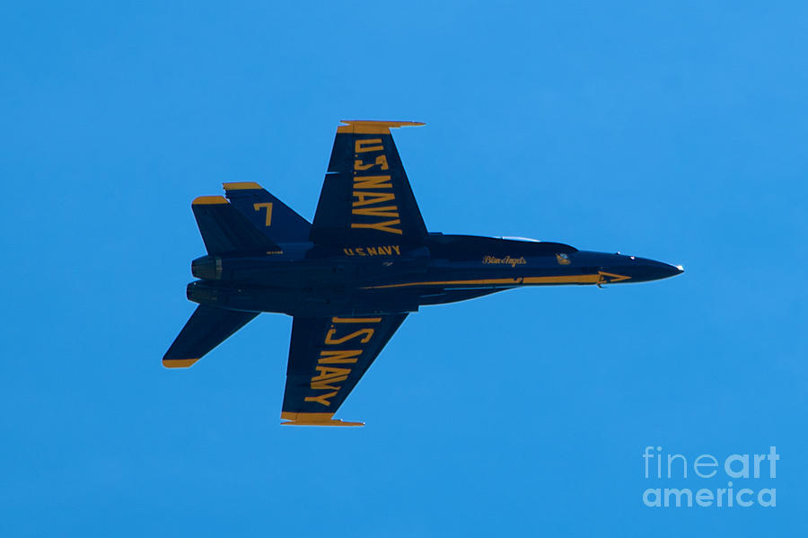 Blue Angels Photograph - Blue Angels 21 by Mark Dodd