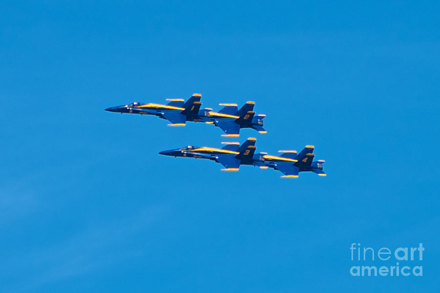 Blue Angels Photograph - Blue Angels 3 by Mark Dodd